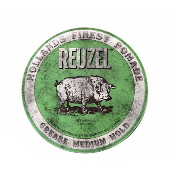 Reuzel Pomade Green Grease Medium Hold